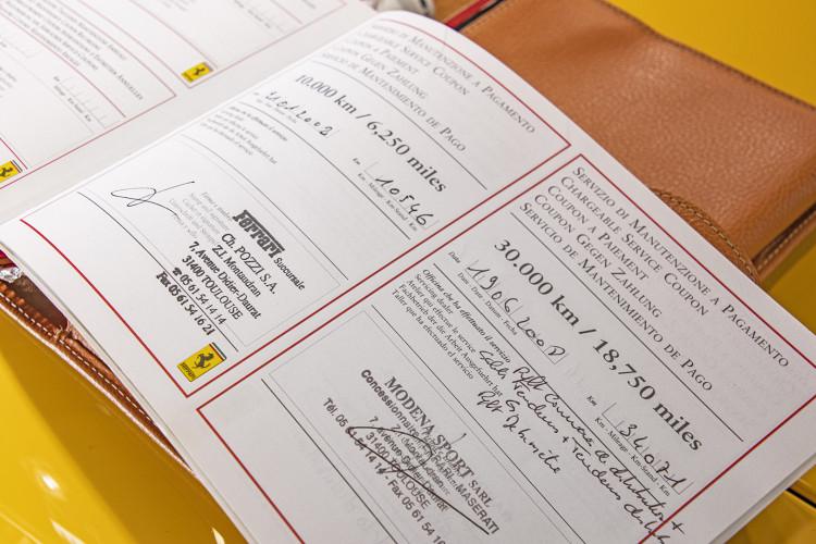 """2001 Ferrari 360 Spider """"Manuale"""" 59"""