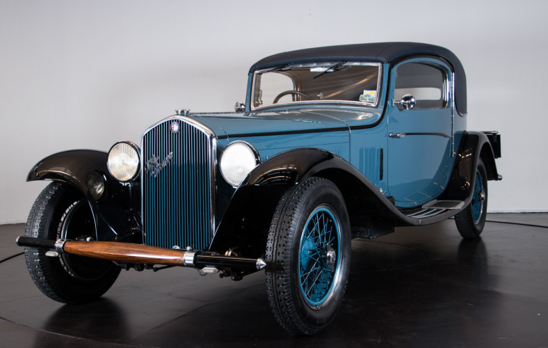 1931 Alfa Romeo 6C 1750 GTC 0
