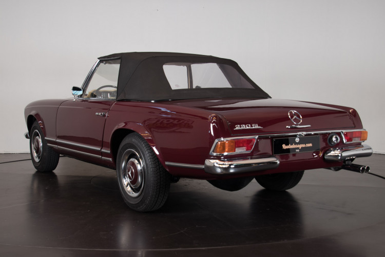 1963 Mercedes-Benz 230 SL 8