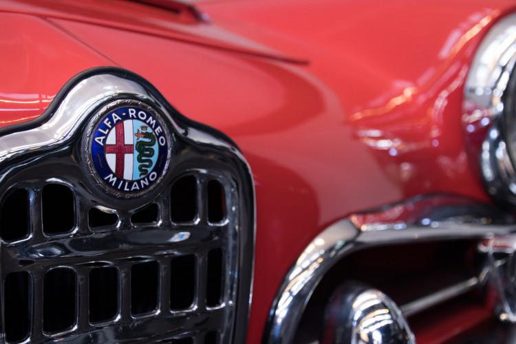 1964 Alfa Romeo Giulia 1600 Spider 9