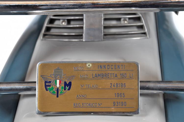 1965 Innocenti Lambretta 150 LI S 10