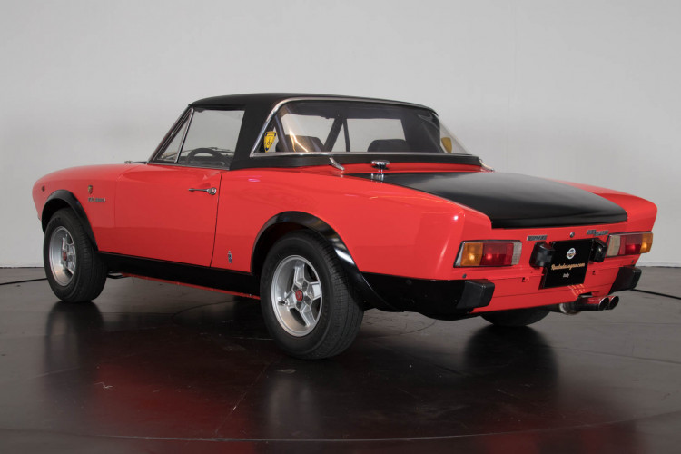 1975 Fiat Abarth 124 8