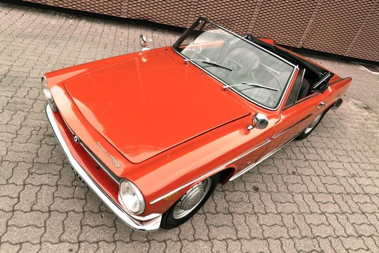 1962 Innocenti 950 Spider 16