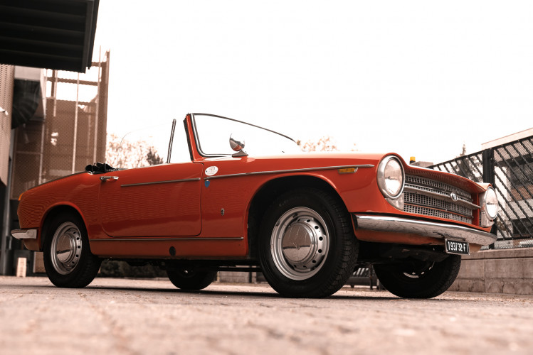 1962 Innocenti 950 Spider 8