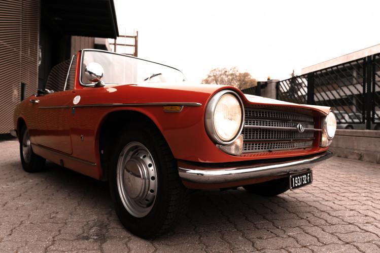 1962 Innocenti 950 Spider 7
