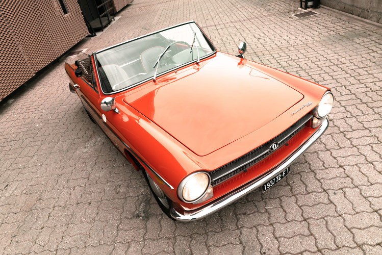 1962 Innocenti 950 Spider 17