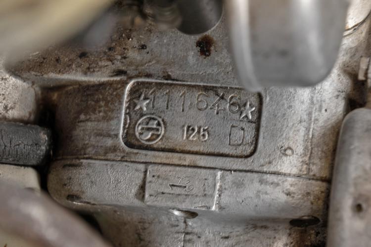 1952 Innocenti Lambretta D 125 Freccia d' Oro 8