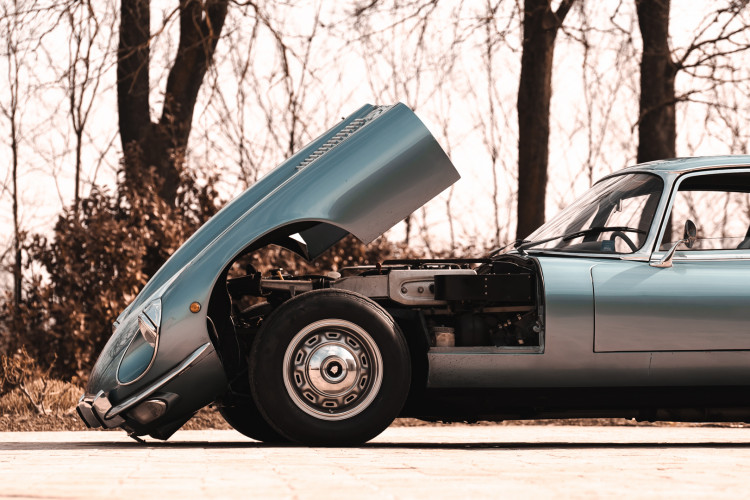 1971 Jaguar E-Type V12 Coupé 35