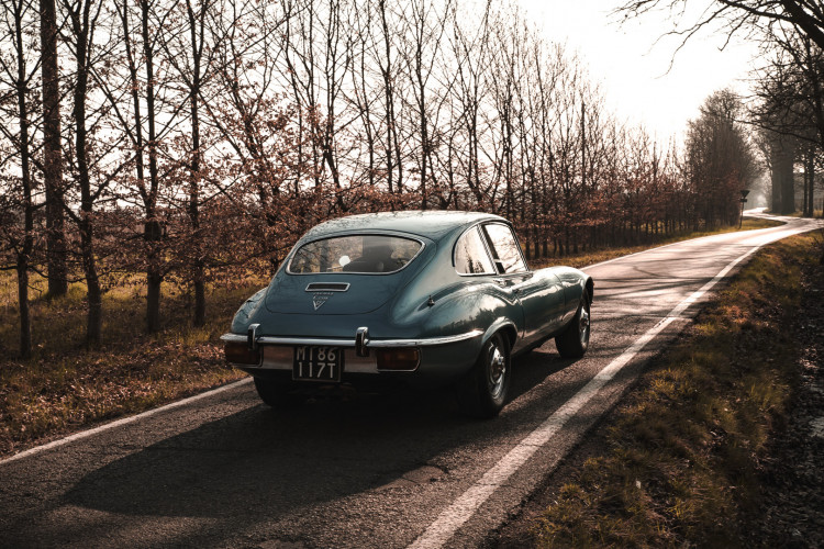 1971 Jaguar E-Type V12 Coupé 1