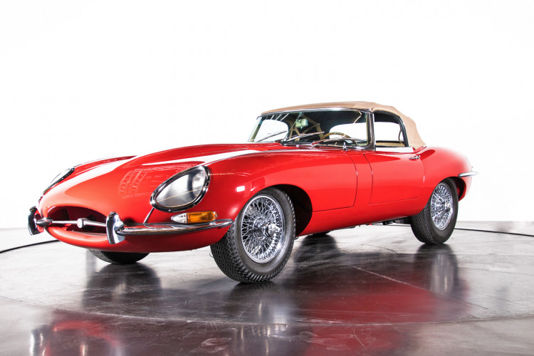 1962 Jaguar E-Type 3.8 Convertible 1° Serie 0