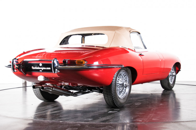 1962 Jaguar E-Type 3.8 Convertible 1° Serie 4