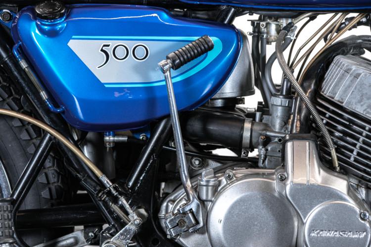 1971 Kawasaki H1A 500 10