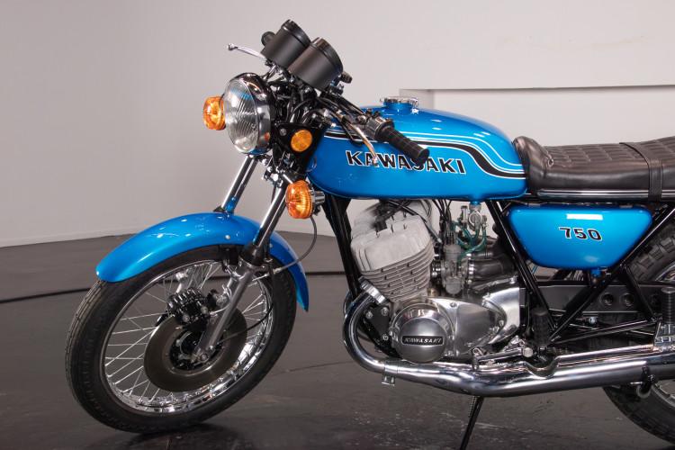 1972 Kawasaki H2 750 9