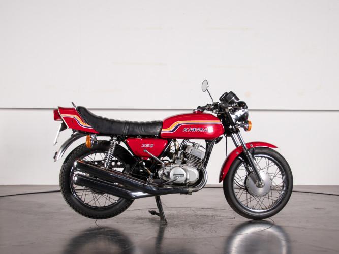 1972 Kawasaki S2 350 4