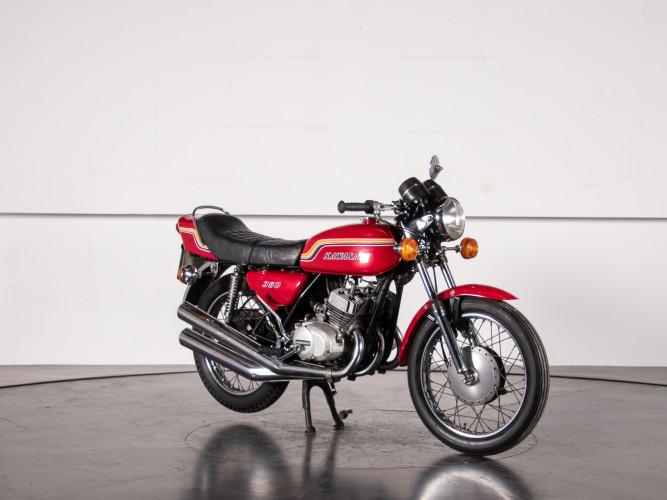 1972 Kawasaki S2 350 5