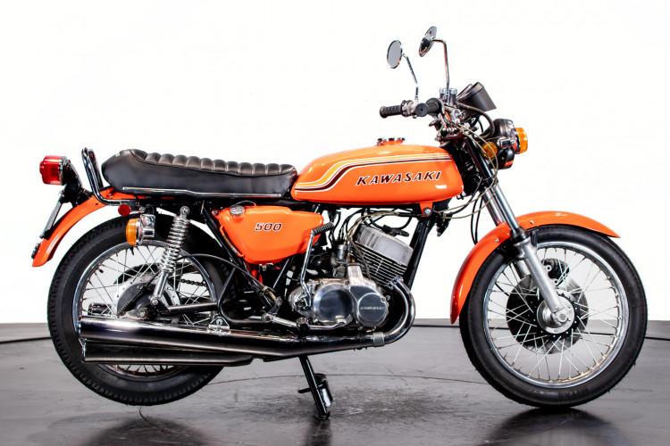 1972 KAWASAKI 500 H1B 2