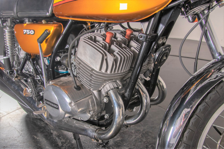 1972 Kawasaki H2 750 21