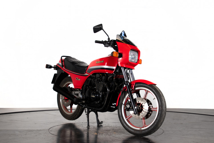 1983 Kawasaki GPZ 550 7