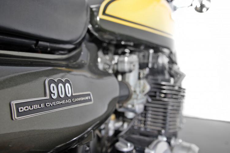 1973 Kawasaki 900 Testa Nera 8