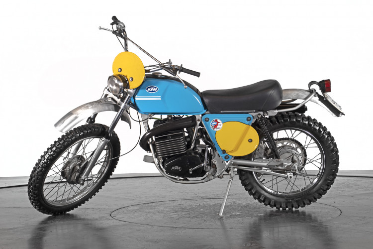 1973 KTM 175 GS 6