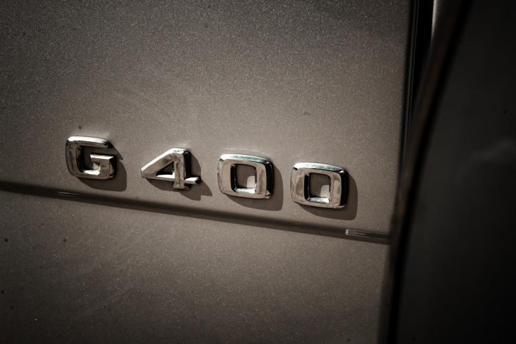 2003 Mercedes-Benz G400 V8 CDI 12
