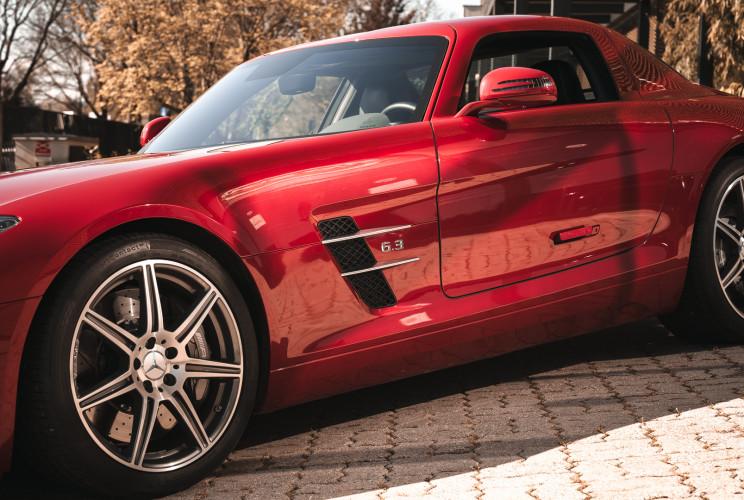 2010 Mercedes-Benz SLS AMG 12