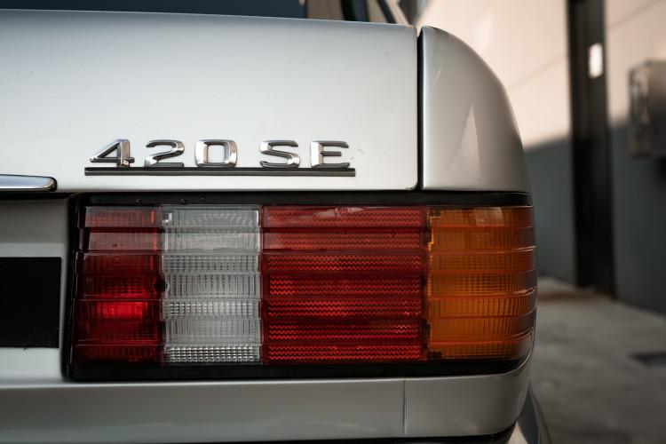 1987 Mercedes-Benz 420 SE 11