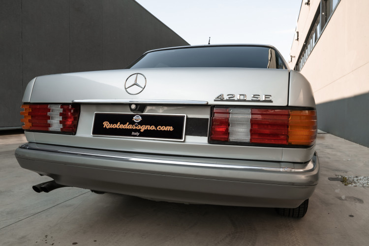 1987 Mercedes-Benz 420 SE 1