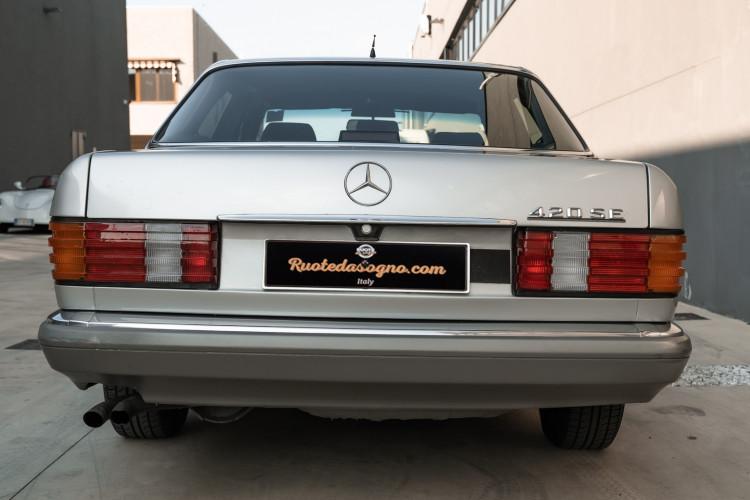 1987 Mercedes-Benz 420 SE 2