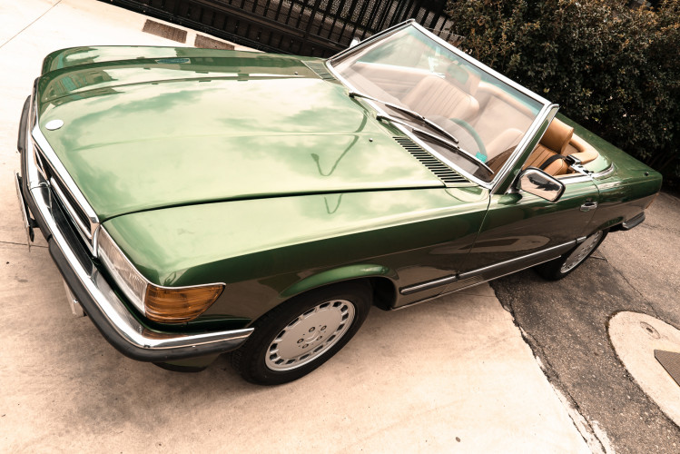 1986 Mercedes-Benz SL 300 9