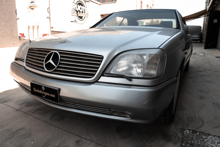 1995 Mercedes-Benz S500 Coupé 4