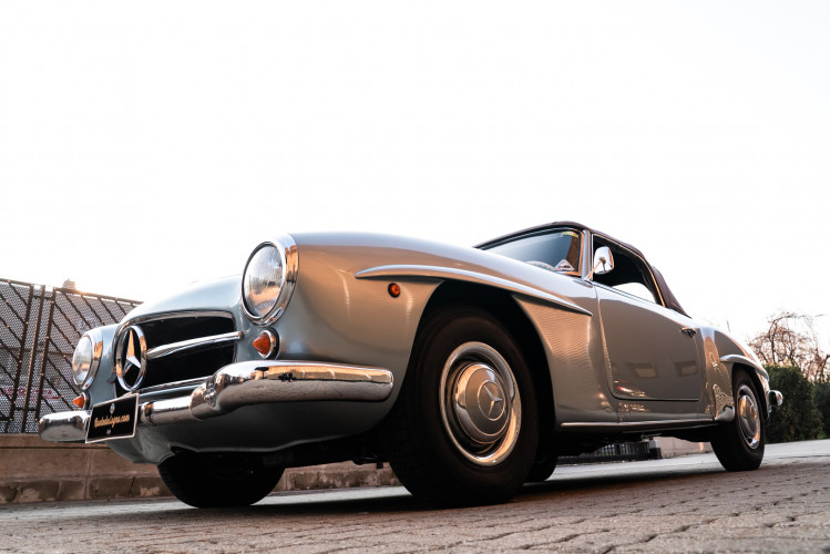 1956 Mercedes-Benz 190 SL 0