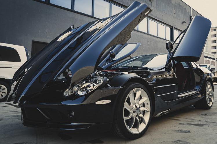 2004 Mercedes-Benz SLR McLaren 8