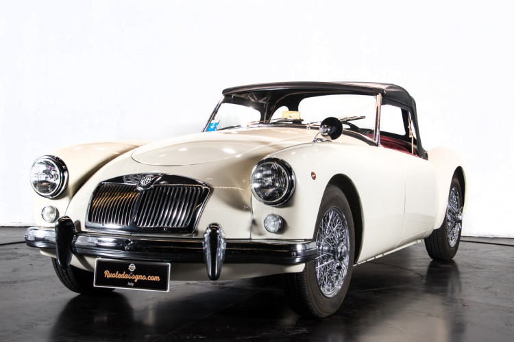 1956 MG A 0