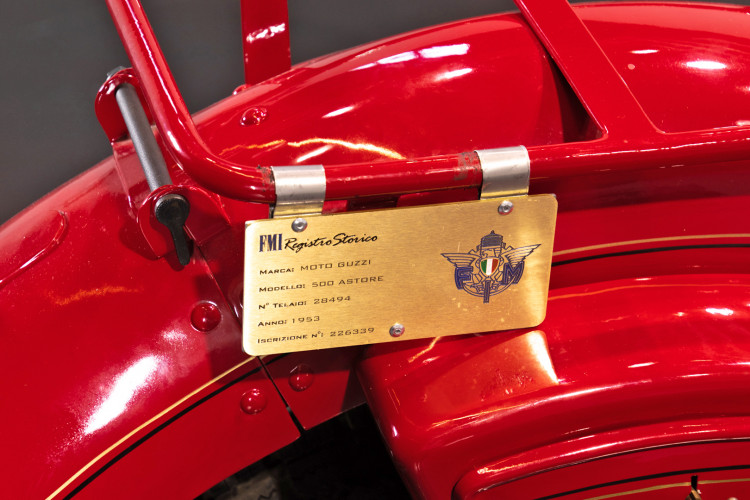 1948 Moto Guzzi Astore 22