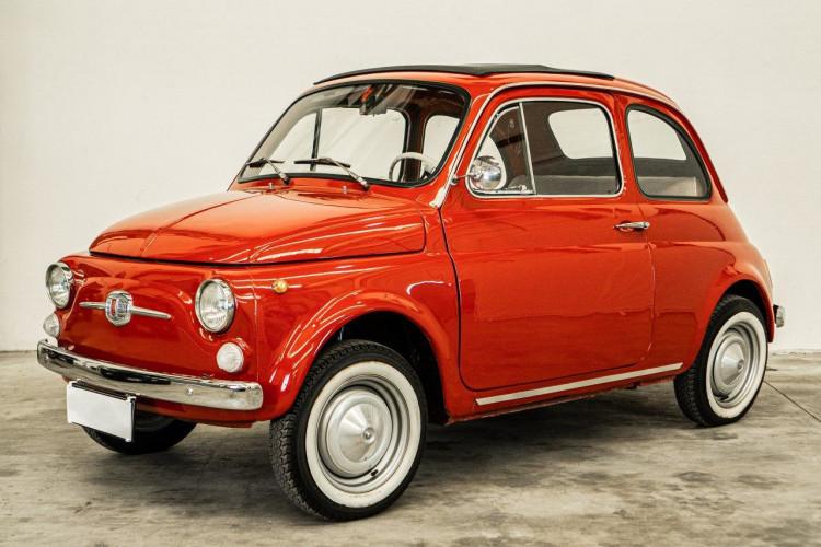 1970 Fiat 500 F Elettrica 0