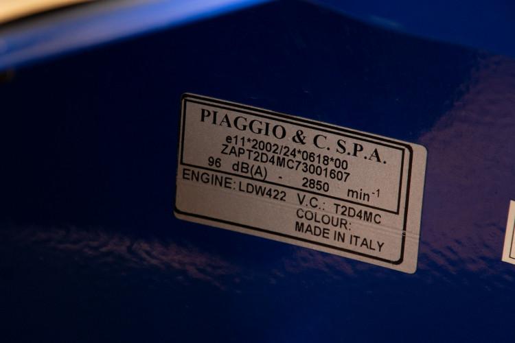 """2007 Piaggio Ape Calessino """"serie numerata"""" 20"""