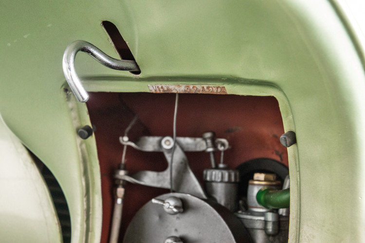 1949 Piaggio Vespa Bacchetta 23