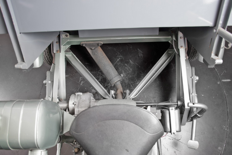 1954 Piaggio APE Cassone 150 17