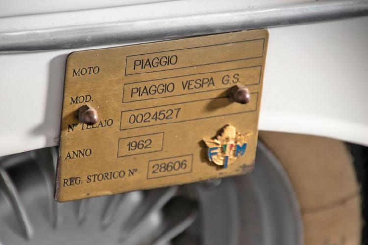 1962 Piaggio Vespa GS 160 I°serie 8