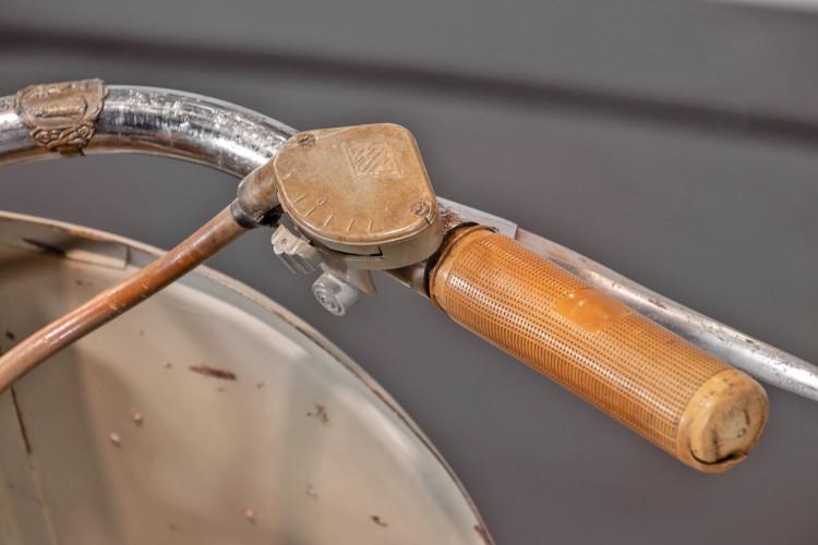 1953 Piaggio Vespa Sidecar faro basso 12