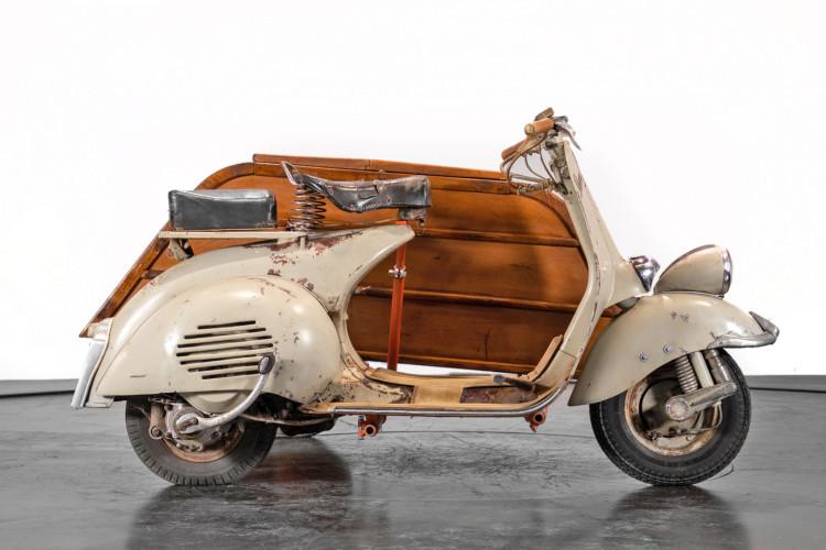 1953 Piaggio Vespa Sidecar faro basso 4