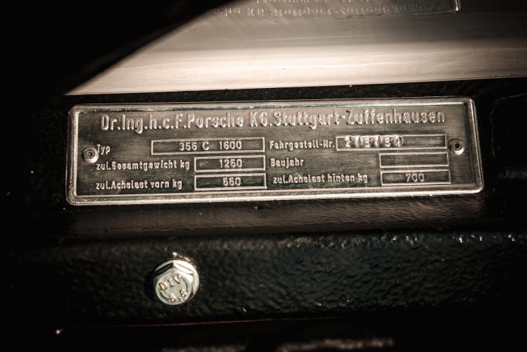 1963 Porsche 356 1600 SC 52