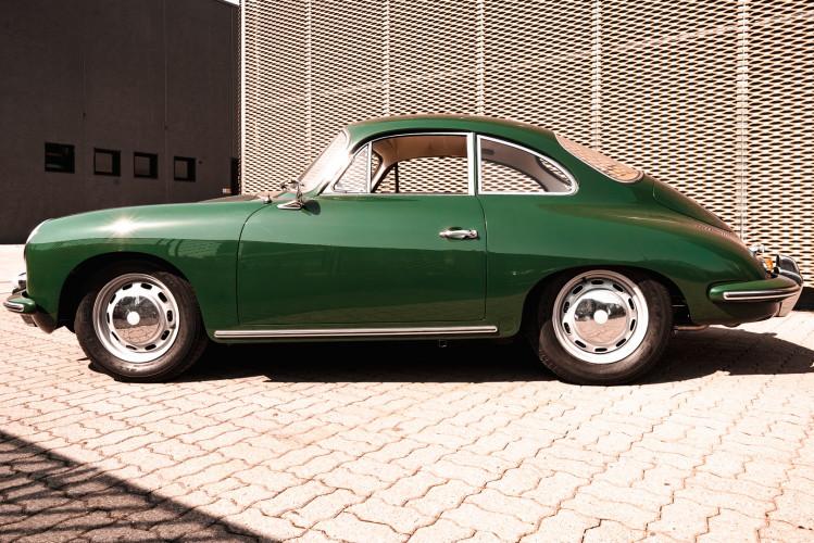 1963 Porsche 356 1600 SC 9
