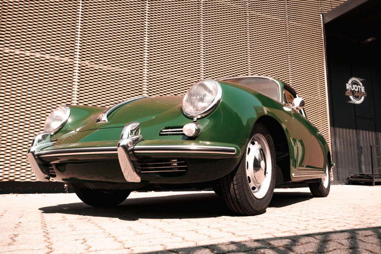 1963 Porsche 356 1600 SC 10