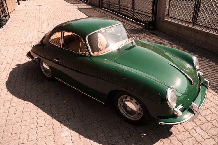 1963 Porsche 356 1600 SC 11