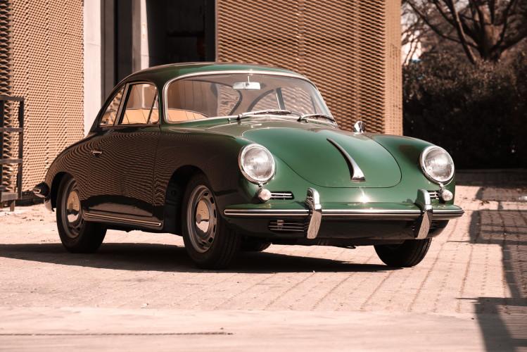 1963 Porsche 356 1600 SC 12