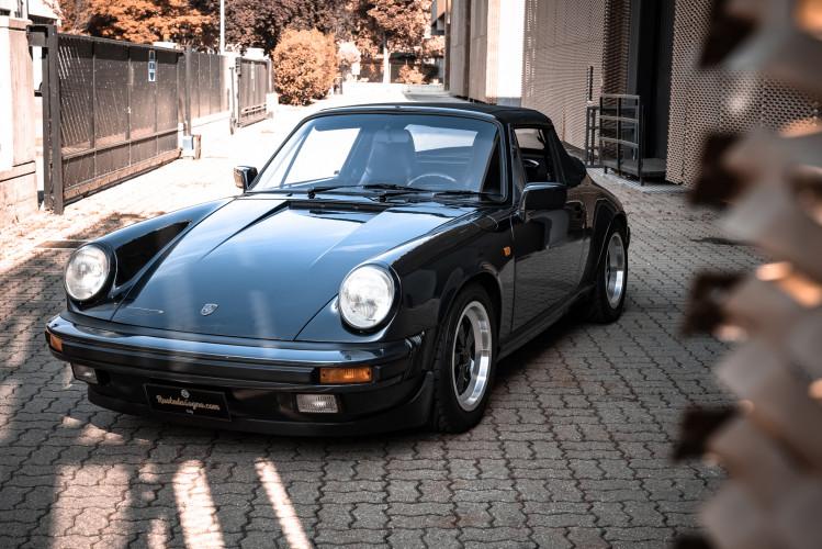 1986 Porsche 911 Carrera 3.2 Cabrio 1