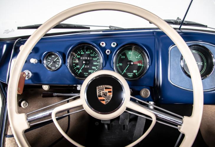 1954 Porsche 356 pre-A Cabriolet 1500 21