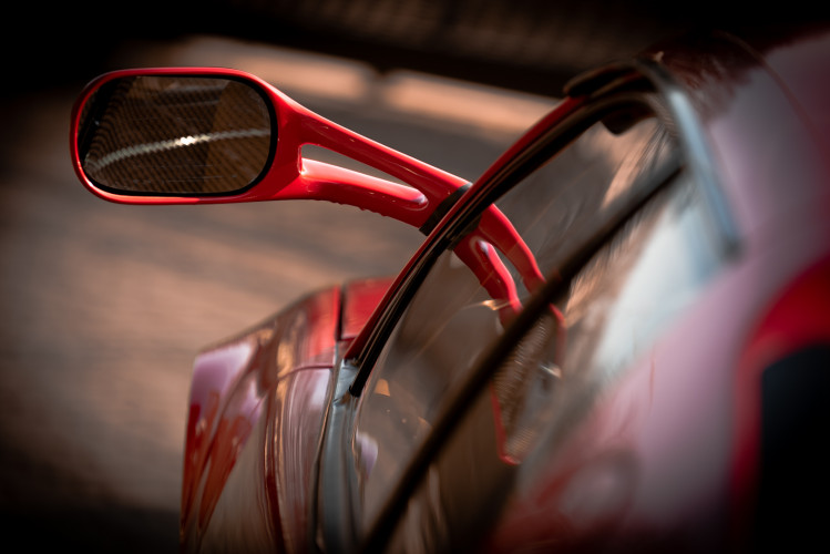 """1985 Ferrari Testarossa """"Monospecchio - Monodado"""" 12"""